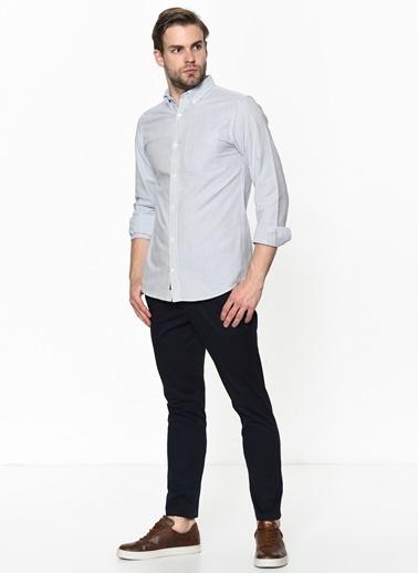 Jack & Jones Uzun Kollu Gömlek Lacivert